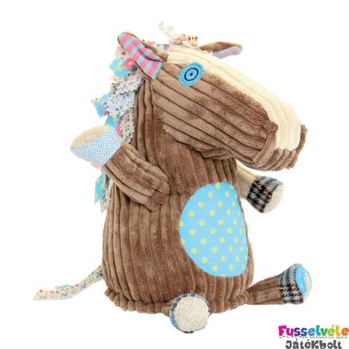 Plüssfigura, 26 cm-es, OGALOS, a ló (Deglingos, 36515, gyerekjáték, 0-12 év)