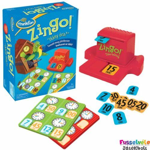 Zingo - Hány óra van (Thinkfun, partijáték, 4-10)