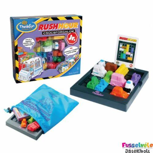 Rush Hour Junior (Thinkfun, egyszemélyes fejlesztő, 6-12)