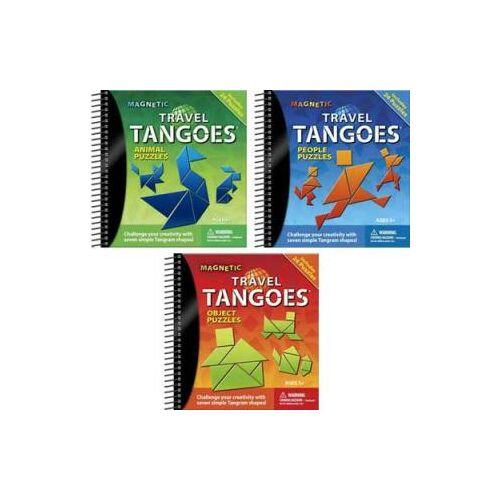 Magnetic Travel Tangoes (Smart Games, logikai játék, 5-99 év)