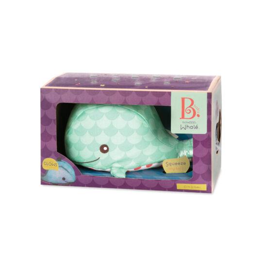 B.TOYS B.Toys Világító bálna (éjszakai fény) - tengeri hangokkal (0-2 év)
