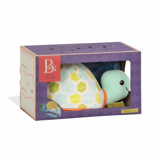 B.TOYS B.Toys Világító teknős (éjszakai fény) - tengeri hangokkal (0-2 év)