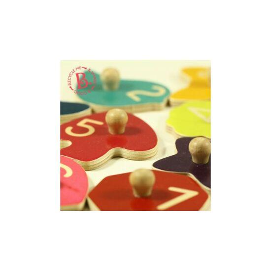 B.TOYS  Forma puzzle - Alapformák (1-3 év)