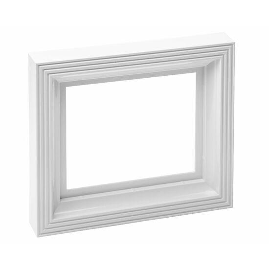 Pixelhobby Fehér színű műanyag képkeret nagy alaplaphoz